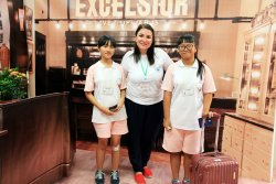 瀛海中學首屆英語生活週 全英語實境提升學習成效