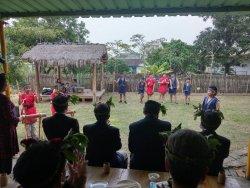 吉貝耍國小–日本內閣官房愛努綜合政策室參訪部落與欣賞學生表演