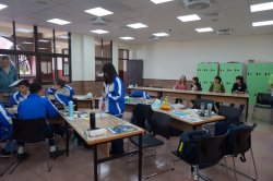 德國柏林高中教師參訪瀛海中學 對瀛海國際教育讚不絕口