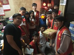 長中社會關懷社參與社區計畫  與華山一同陪伴銀髮族樂開懷