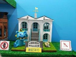 長榮中學設計群靈感來自故鄉  畫出府城在地藏寶圖