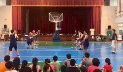下營國中舉辦《2018未來之星才藝雙語籃球營》