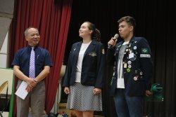 永仁高中開學典禮喜迎巴西、匈牙利國際學生