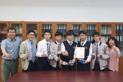 長榮中學工業群專題能力備受肯定  全國創意競賽獲光電類組銀牌獎