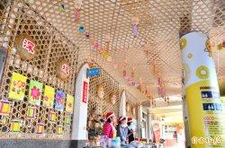 行銷地方傳統特色 這所國小以竹編打造藝術廊道--轉貼   2018-12-22 自由時報記者吳俊鋒/台南報導