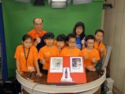 轉載自由新聞網--國小學童當主播 5種語言報導家鄉事