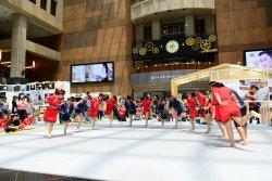 吉貝耍國小轉載自由時報--傳承發揚西拉雅文化 吉貝耍學童北上演出傳說舞蹈