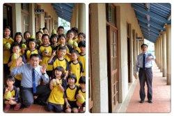 親切的嘉賓蒞臨--臺南市大家長黃偉哲市長與小朋友開心互動
