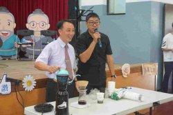 進學敬師  咖啡傳香
