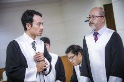 長中校友擔任男主  盲人律師宣達上帝福音