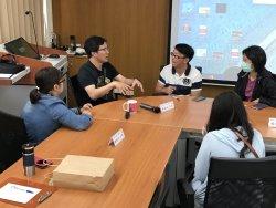新課綱前導學校互訪,麥寮高中與永仁高中跨校交流