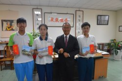 瀛海高中校排第一 立志當化學家