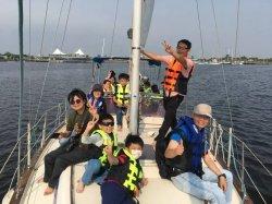 體驗風帆破浪 億載國小漁光分校孩子有夠幸福