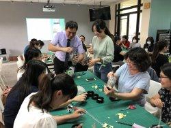 校際合作,資源共享—和順國小老師參訪和順國中科技中心