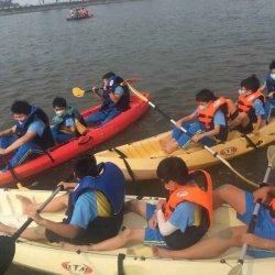 都是海濱學校!台南漁光到雙春國小 划獨木舟認識海洋
