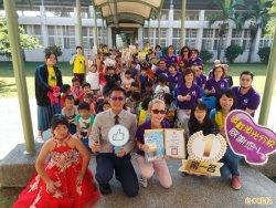 台南漁光分校飄書香 扶輪社贈168本新書豐富閱讀能量