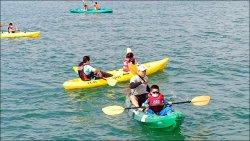 (台南)漁光分校開海童軍課程 學造獨木舟