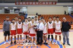 大灣高中國中部男籃籃球聯賽全國決賽,榮獲全國第四名!!