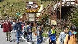 樹人年度戶外教育「清境梅峰合歡山」--高年級登百岳的初體驗