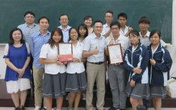 永仁組隊挑戰「提升高中生國際視野計畫專題論文競賽」榮獲冠亞軍