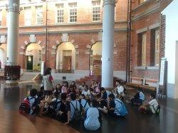 結合科普閱讀 和順學生走讀台南博物館