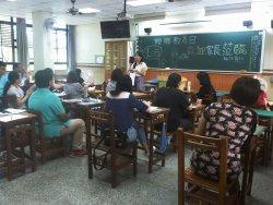 和順國中親職教育日邀請饒夢霞教授談親子溝通