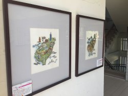下營國中生「畫趣-插畫美學」展覽記實