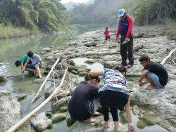 一趟冒險驚奇的自然生態之旅--為60週年校慶聖火取材--龜重溪天然氣