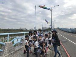 漁光島 漁光分校學童的大操場