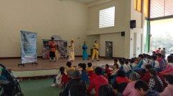 彩虹志工劇團蒞校演出精采聖誕音樂劇--『最好的師傅』