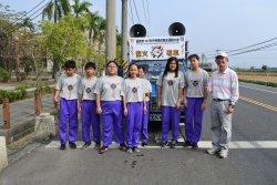 台南市中等學校運動會聖火來到柳營國中