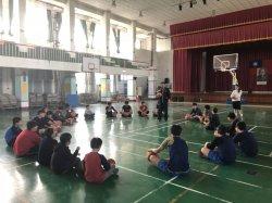 寓教於樂 下營國中雙語籃球營熱血登場