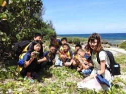 樹人國小106學年度戶外教育環保之旅--墾丁後灣淨灘&施放螺貝