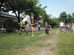 吉貝耍國小—六年級與幼兒園的運動會