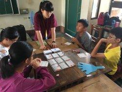 和順國中與文藻外語大學合作開設環保小小兵英語夏令營