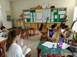 台南樂集國樂札根計畫 大文國小難得的國樂的學習之旅