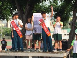 瀛海公民民主教育嶄新一頁---外校聯盟、擴建教學新設備,成為訴求,引起高度討論話題