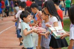 三村學童傳書香 樂閱書坊清韻揚
