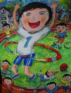 吉貝耍國小學生美展北區繪畫類低年級獲得佳績
