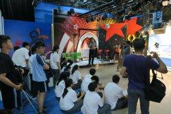 「一日媒體人」體驗課程-翻轉攝影棚變成教室