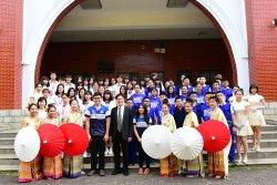 長榮中學第一屆泰國姊妹校HOMESTAY 體驗文化交流之美
