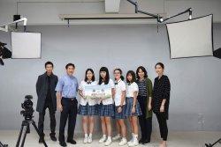 長榮中學拍攝玩稅金片微電影  勇奪高中職組亞軍