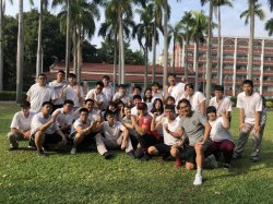 長榮中學學子就是愛運動  公視拍攝健康體重管理班