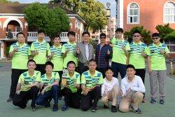 長榮中學桌球嚇嚇叫  奪下中小學錦標賽冠軍