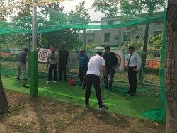 和順國中高爾夫揮桿練習場啟用—用高爾夫推動三好校園品德教育
