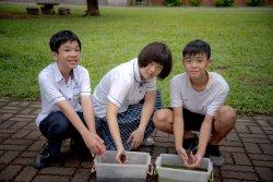 長榮中學國中部筍殼魚一躍龍門    榮獲台南市科展亞軍